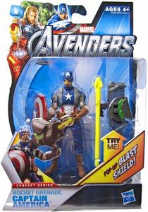 Marvel The Avengers - 3.75-Inch Rocket Grenade Captain America