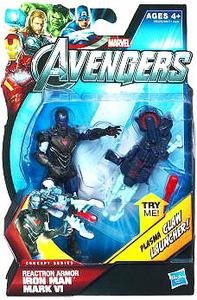 Marvel The Avengers - 3.75-Inch Reaction Armor Iron Man Mark VI