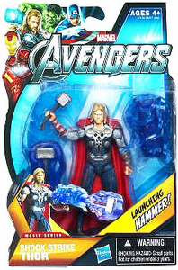 Marvel The Avengers - 3.75-Inch Shock Strike Thor