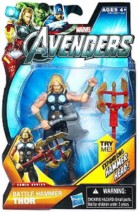 Marvel The Avengers - 3.75-Inch Battle Hammer Thor