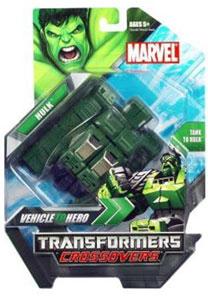 Marvel Transformers Crossover - Hulk