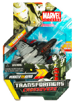 Marvel Transformers Crossovers - Iron Man (War Machine)