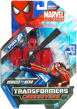 Marvel Transformers Crossovers - Spider-Man Helicopter