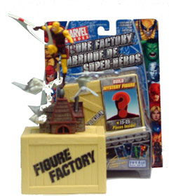 Figure Factory: Mystery Yellow Daredevil Loose figure