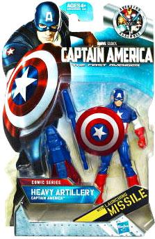 Captain America First Avengers - 3.75-Inch Heavy Artillery Captain America