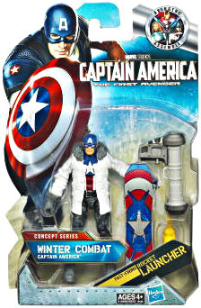 Captain America First Avengers - 3.75-Inch Winter Combat Captain America