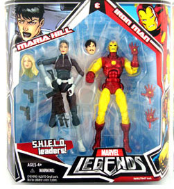 Hasbro Marvel Legends 2-Pack: Maria Hill and Iron Man