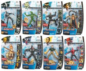 Hasbro Marvel Legends - Spider-Man 3 Series Set of 8