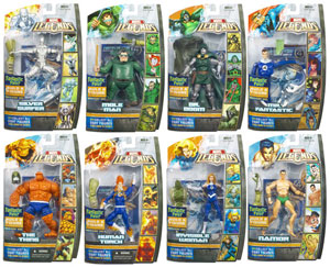 Hasbro Marvel Legends - Fantastic Four Series Set of 8 - BUILD Ronan The Accuser