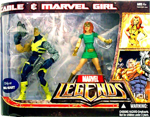 Hasbro Marvel Legends - Cable and Marvel Girl