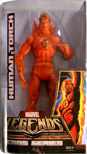 Marvel Legends Icons - Flaming Human Torch