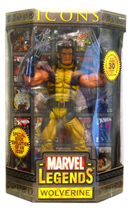 Marvel Legends Icons - Unmasked Wolverine Variant
