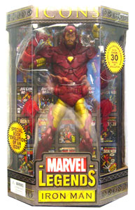 Marvel Legends Icons - Gold Iron Man Variant