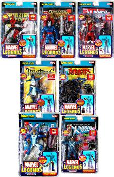 Marvel Legends Series 10 Variant Set of 7