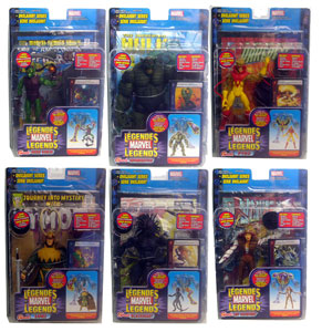 Marvel Legends Series 13 Set of 6