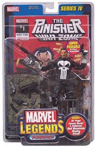 Marvel Legends Punisher Comic Edition