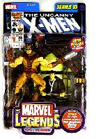 Marvel Legends Series 6 X-Men Brown Costume Wolverine