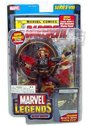 Marvel Legends Blonde Black Widow Variant