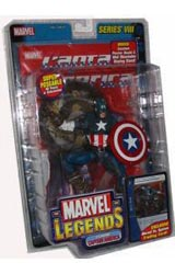 Marvel Legends Classic Captain America Variant