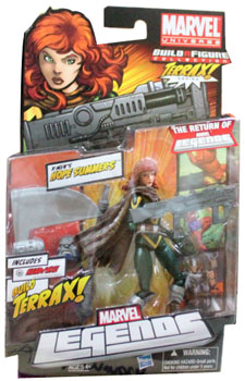 Marvel Legends 2012 - BAF Terrax - Hope Summers