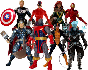 Marvel Legends 2012 - Series 1 - BAF Terrax Set of 7