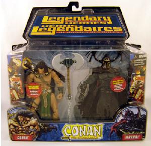 Conan and Wrarrl