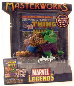 The Thing VS The Hulk