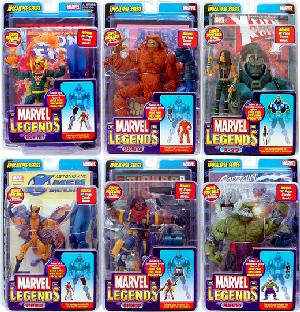 Marvel Legends Series 12 Set of 6