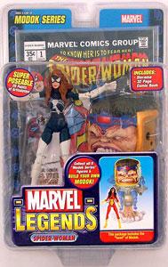 ML Black Suit Spider-Woman Variant