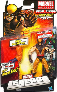 Marvel Legends 2012 - BAF Arnim Zola - Dark Wolverine Daken
