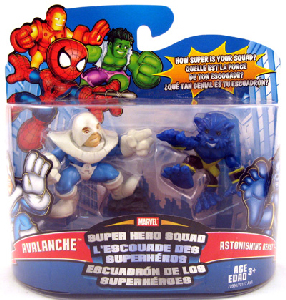 Super Hero Squad - Avalanche and Beast