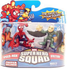 Super Hero Squad - Spider-Man and Vulture