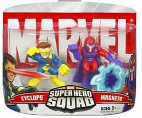 Super Hero Squad: Cyclops and Magneto
