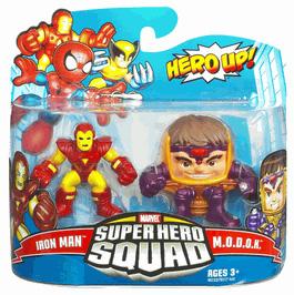 Super Hero Squad - Iron Man and M.O.D.O.K
