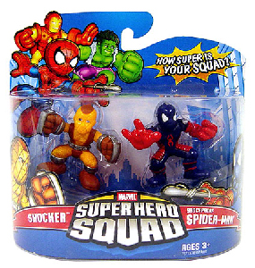 Super Hero Squad - Shockproof Spider-Man and Shocker
