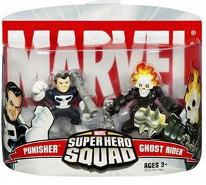 Super Hero Squad: Punisher and Ghost Rider