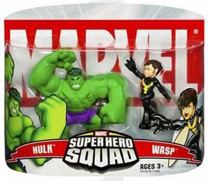 Super Hero Squad: Hulk and Wasp