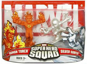 Super Hero Squad: Human Torch and Silver Surfer