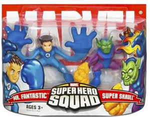 Super Hero Squad: Mr Fantastic and Super Skrull