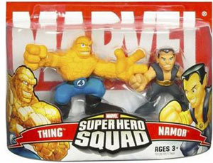 Super Hero Squad: The Thing and Namor
