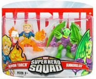 Super Hero Squad - Human Torch and Annihilus