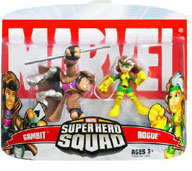 Super Hero Squad - Gambit and Rogue