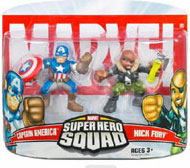 Super Hero Squad - Captain America and Nick Fury