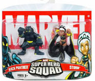 Super Hero Squad - Storm and Black Panther