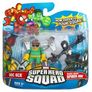 Super Hero Squad - Doc Ock and Black-Suited Spider-Man