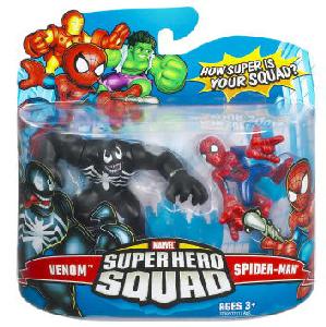 Super Hero Squad - Venom and Spider-Man