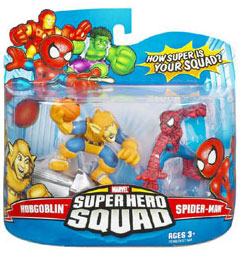 Super Hero Squad - Hobgoblin and Spider-Man