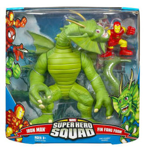 MegaPack Super Hero Squad - Fin Fang Foom and Iron Man
