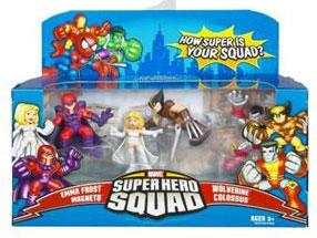 Super Hero Squad: X-Men: Showdown With Magneto 4-Pack