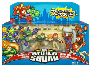Super Hero Squad: City In Crisis 4-Pack